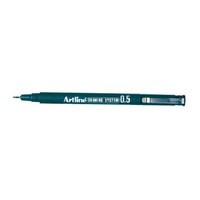 Artline Drawing System 0.5mm Pen Black