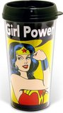 Wonder Woman Girl Power Travel Mug