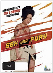Sex and Fury on DVD