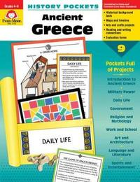 Hist Pocket Ancient Greece Grade 4-6+ by Evan-Moor Educational Publishers