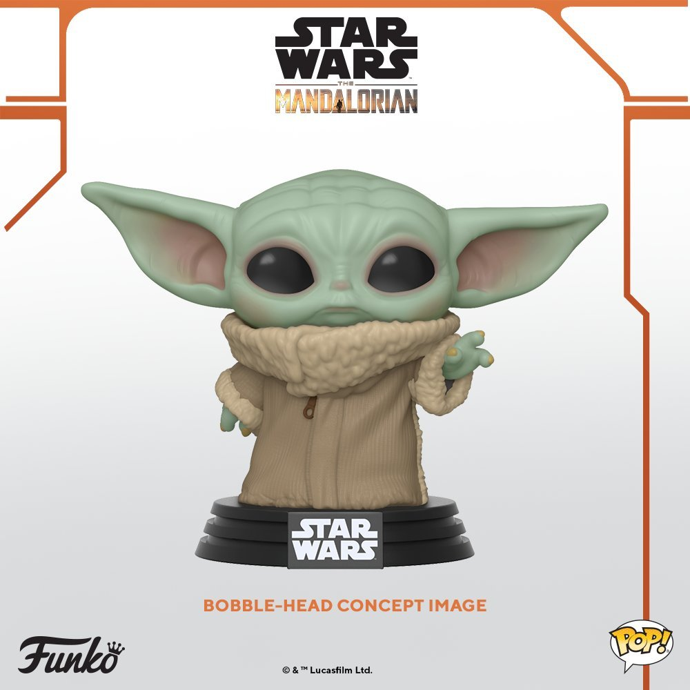 Star Wars: The Mandalorian - The Child Pop! Vinyl Figure image