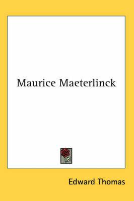 Maurice Maeterlinck by Edward Thomas image