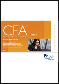 CFA Navigator - Level 2 Passcards by BPP Learning Media