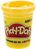 Play Doh Single Tub - Yellow