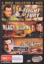 Flight Of Fury / Black Dawn / Belly Of The Beast - 3 Movie Collector's Pack (3 Disc Set) on DVD