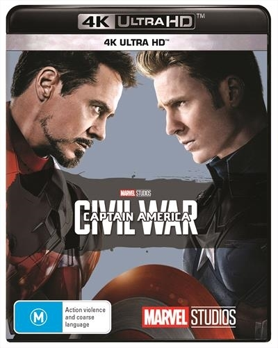 Captain America: Civil War on UHD Blu-ray