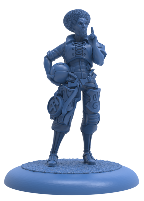 Guild Ball: The Mason's Guild - Ace Striker Corbelli