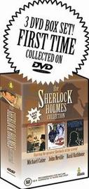 Sherlock Holmes Collection, The (3 Disc Box Set) on DVD