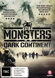 Monsters: Dark Continent on DVD