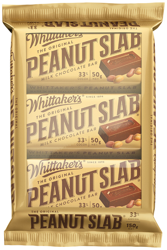 Whittaker's Peanut Slab (Pack of 3)