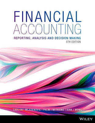 Financial Accounting: Reporting, Analysis And Decision Making 5E WileyPLUS Stand-Alone Card by Shirley Carlon