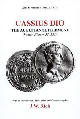 Cassius Dio: Roman History 53.1 - 55.9 by John Rich image