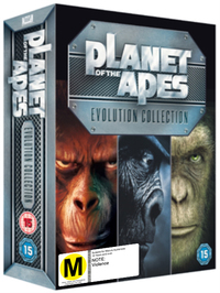 Planet of the Apes: Evolution Collection on DVD