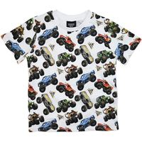 Monster Jam Tee with Print - Size 8