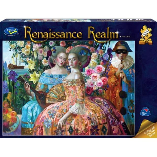 Holdson: 1000 Piece Puzzle - Renaissance Realm (Sisters) image