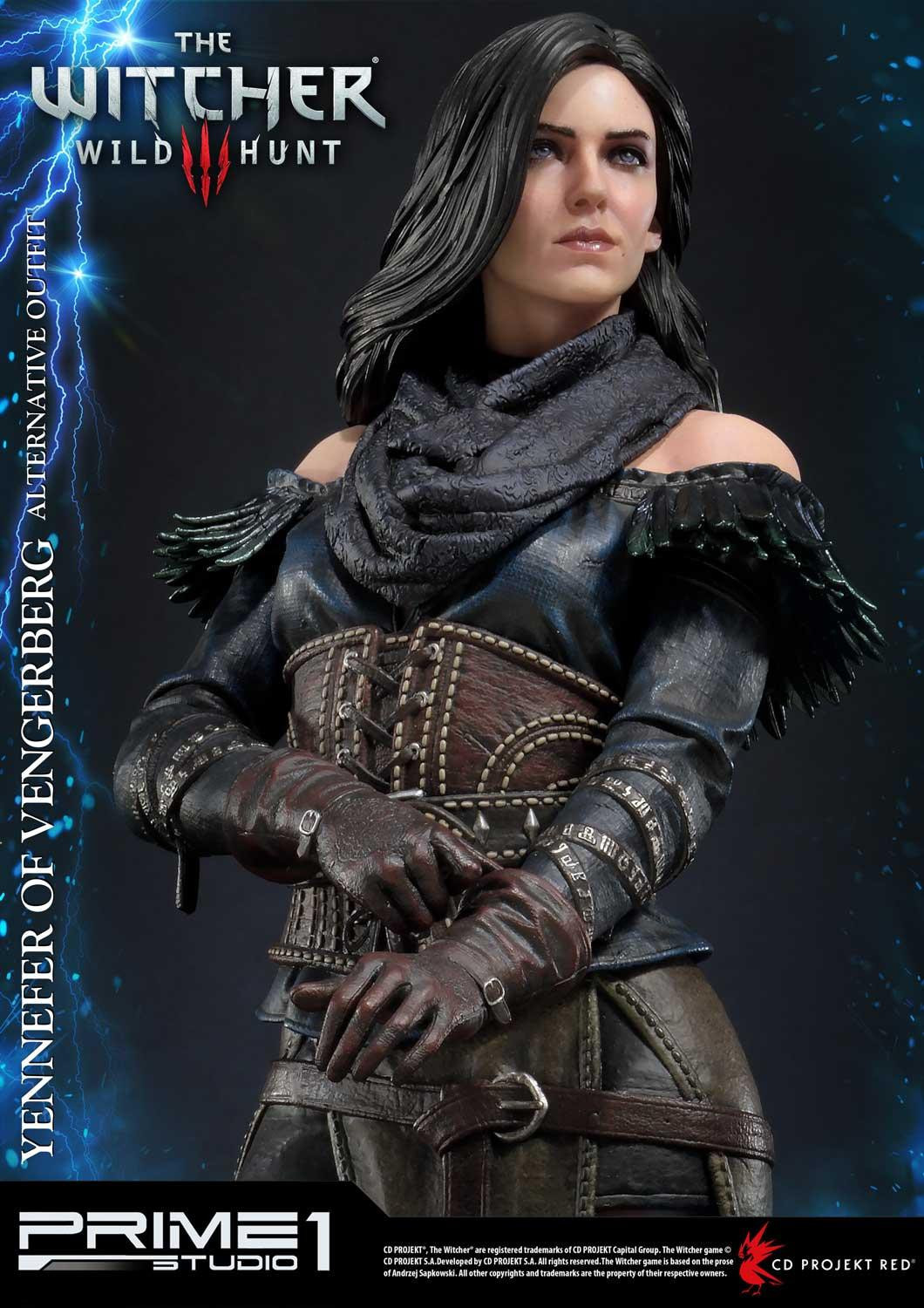 """The Witcher 3: Yennefer of Vengerberg [Alternative Outfit] (Deluxe) - 20"""" Premium Statue image"""