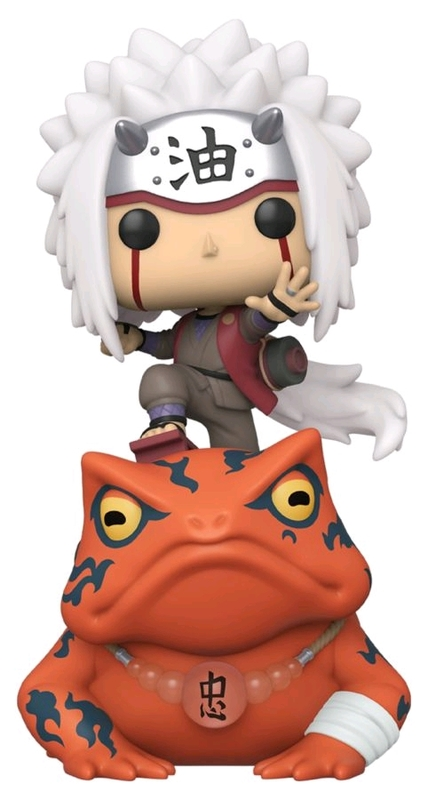 Naruto: Jiraiya on Toad Pop! Ride Figure