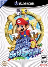 Super Mario Sunshine for GameCube