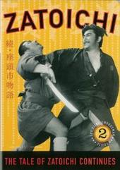 Zatoichi - The Tale Of Zatoichi Continues on DVD