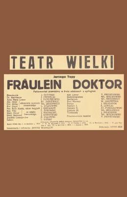 Frulein Doktor by Jerzy W. Tepa