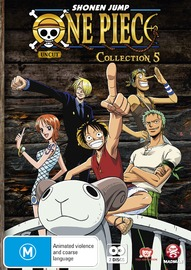 One Piece (Uncut) Collection 5 on DVD