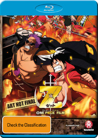 One Piece Film: Z on Blu-ray