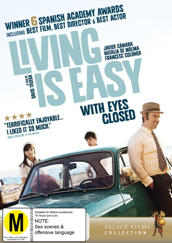 Living Is Easy on DVD