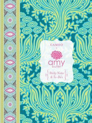 Cameo Sticky Notes & To-Do's (16 Sticky Pads, 2 Notepads) by Amy Butler