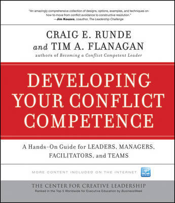 Developing Your Conflict Competence by Craig E Runde image