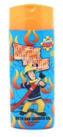 Fireman Sam Bath & Shower Gel (400ml)