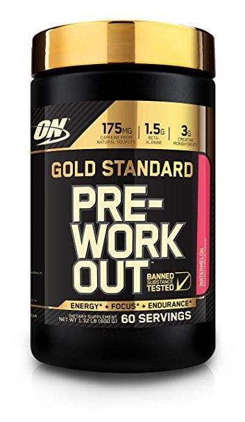 Optimum Nutrition Gold Standard Pre-Workout - Watermelon (600g) image