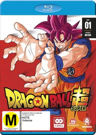 Dragon Ball Super: Part 1 (Eps 1-13) on Blu-ray