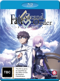 Fate/Grand Order - First Order on Blu-ray