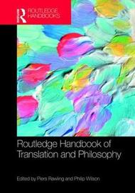 The Routledge Handbook of Translation and Philosophy image