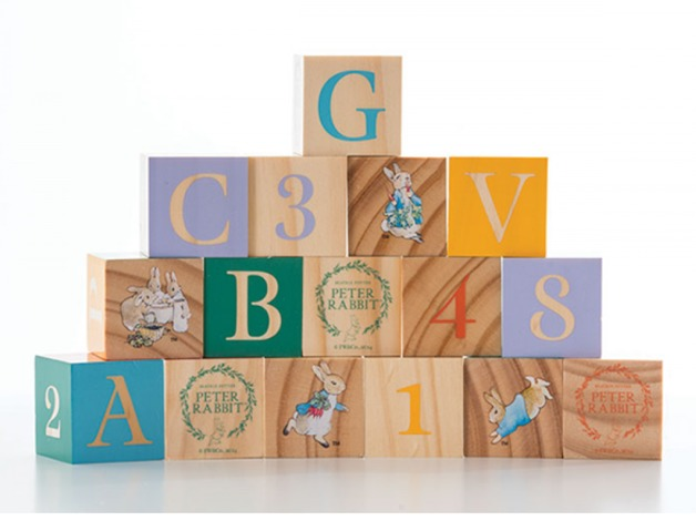 Beatrix Potter - Wooden Learning Blocks (16pc)