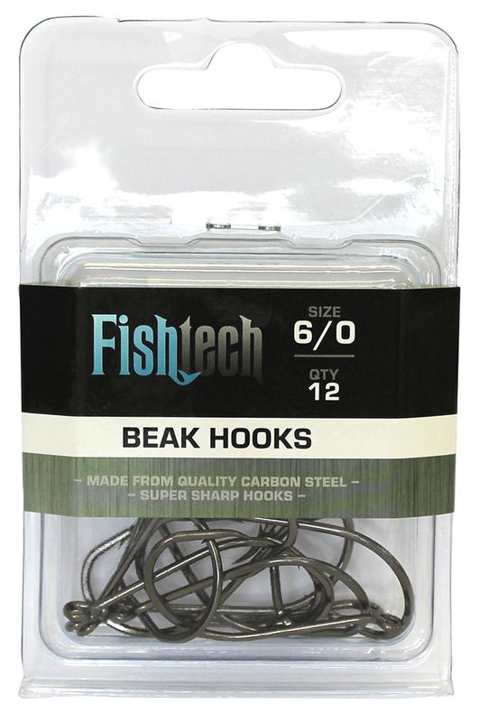 Fishtech Beak Hooks 6/0 (12 per pack)