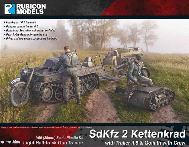 Rubicon 1/56 Sdkfz 2 Kettenkrad