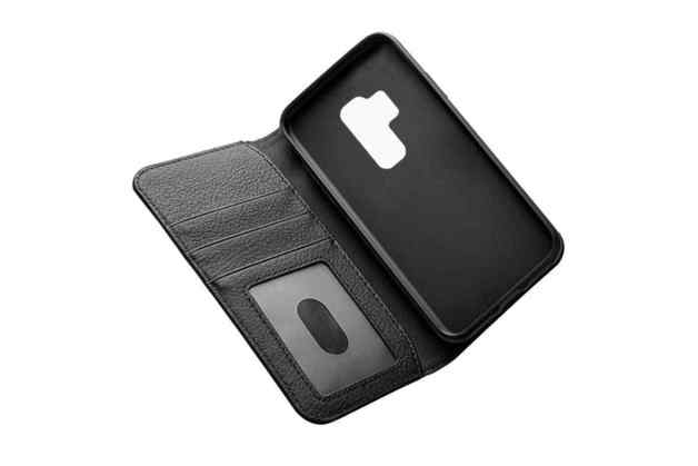 Cygnett: CitiWallet Leather Case for Galaxy S9 + - Black