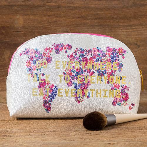 Natural Life: Vegan Cosmetic Bag - Go Everywhere