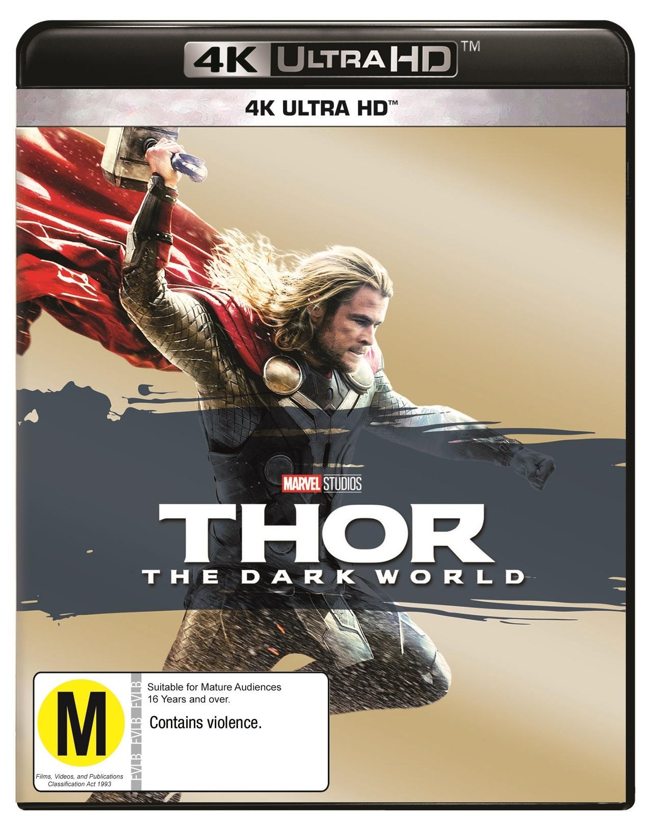 Thor: The Dark World on UHD Blu-ray image