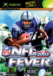 NFL Fever 2003 for Xbox