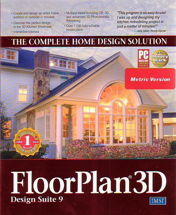 FloorPlan 3D Design Suite 9 Home Design Solution for PC Games