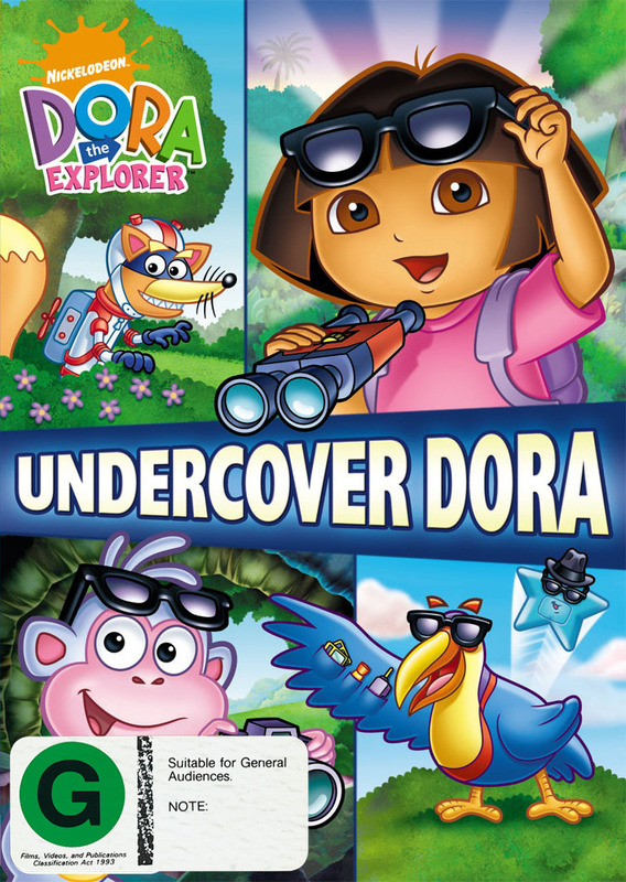 Dora The Explorer: Undercover Dora on DVD