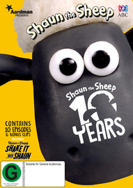 Shaun the Sheep: 10 Years of Shaun on DVD