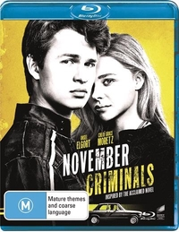 November Criminals on Blu-ray