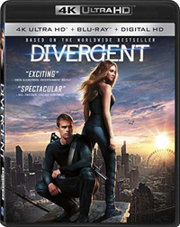 Divergent on UHD Blu-ray