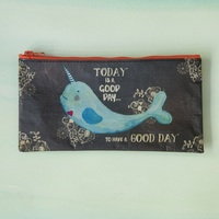 Natural Life: Recycled Zip Pencil Bag - Good Days (Large)