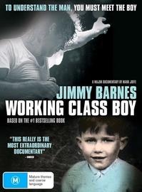 Working Class Boy (Jimmy Barnes) on DVD