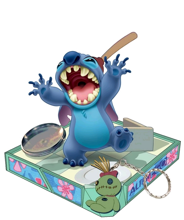"Disney: Lilo & Stitch - 5.5"" Finders Keypers Statue"