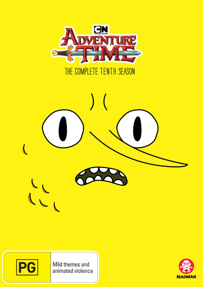 Adventure Time - The Complete Tenth Season on DVD image